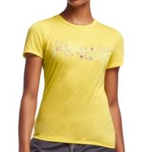 Icebreaker Tech Lite T-Shirt - UPF 20+, Merino Wool, Short Sleeve (For Women) in Fuse - Closeouts