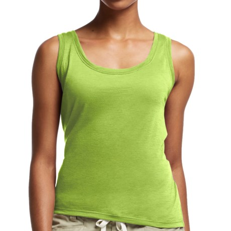 Icebreaker Tech Lite Tank Top UPF 20+, Merino Wool, Sleeveless (For Women)