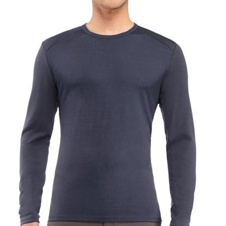 Icebreaker Tech Shirt - UPF 30+, Merino Wool, Midweight, Long Sleeve (For Men) in Admiral