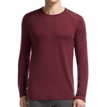Icebreaker Tech Shirt - UPF 30+, Merino Wool, Midweight, Long Sleeve (For Men) in Redwood - Closeouts