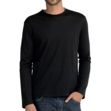 Icebreaker Tech T Lite Base Layer Top - Merino Wool, Long Sleeve (For Men) in Black - Closeouts