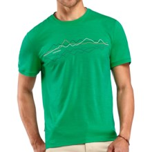 Icebreaker Tech T Lite T-Shirt - UPF 30, Merino Wool, Short Sleeve (For Men) in Lucky - Closeouts