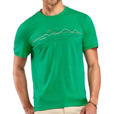 Icebreaker Tech T Lite T Shirt UPF 30, Merino Wool, Short Sleeve (For Men)
