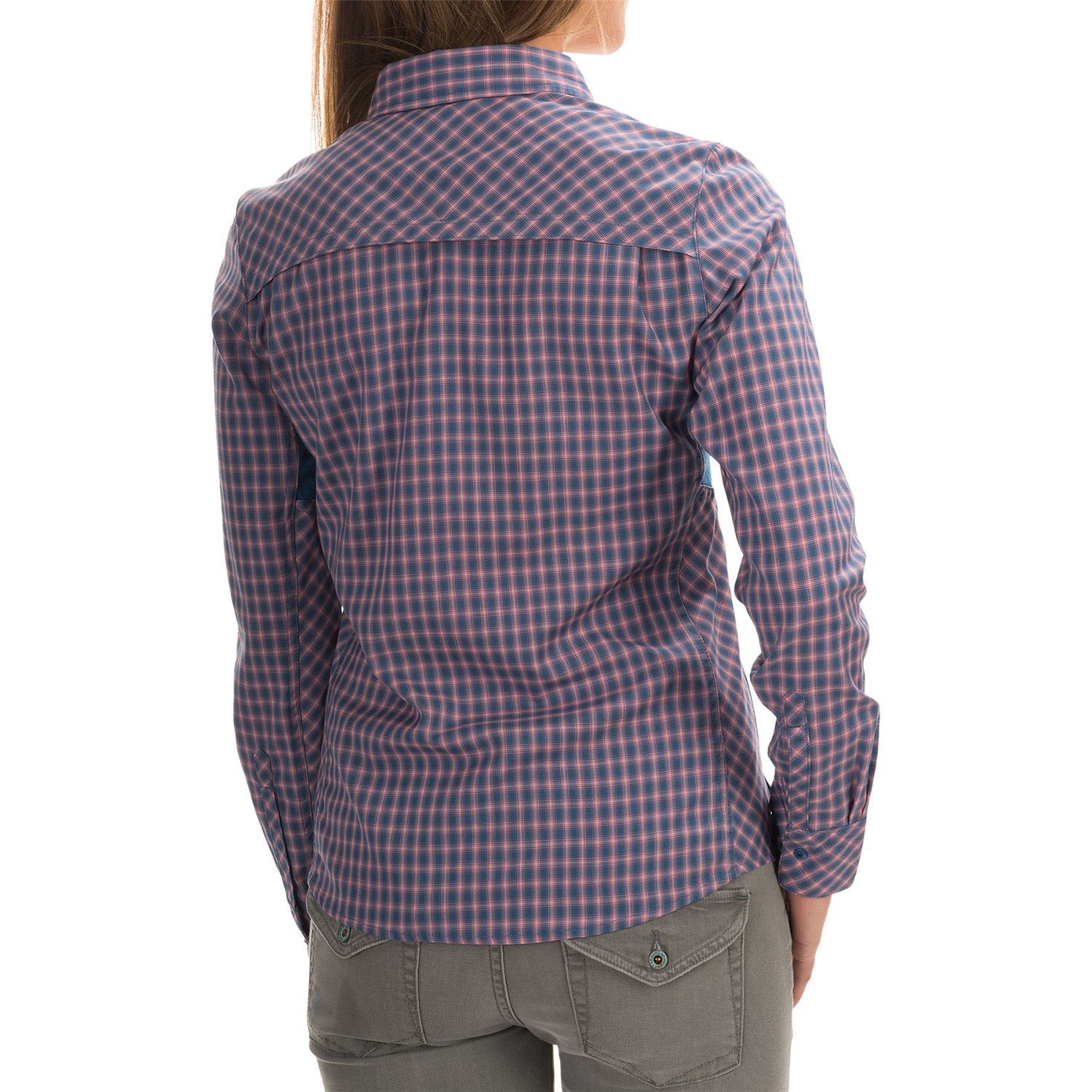 Icebreaker terra plaid shirt for women save 63 for Merino wool shirts for travel