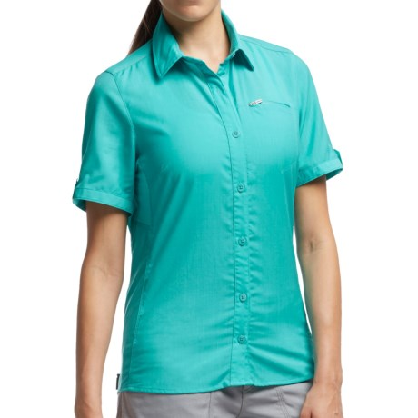Icebreaker Terra Shirt UPF 30+, Merino Wool, Short Sleeve (For Women)