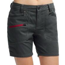 Icebreaker Terra Shorts - UPF 20+, Merino Wool (For Women) in Monsoon - Closeouts