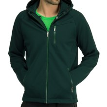 Icebreaker Teton Hood Jacket - UPF 50+, Merino Wool, Soft Shell (For Men) in Nova - Closeouts