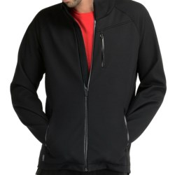 Icebreaker Teton Jacket - Merino Wool (For Men) in Black