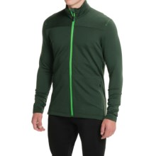 Icebreaker Transit Running Jacket - UPF 20+ (For Men) in Conifer/Balsam - Closeouts
