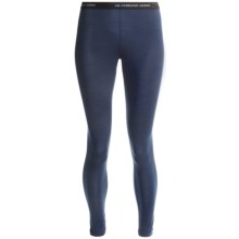 Icebreaker Vertex Base Layer Bottoms - Merino Wool, Midweight, UPF 30+ (For Women) in Admiral - Closeouts
