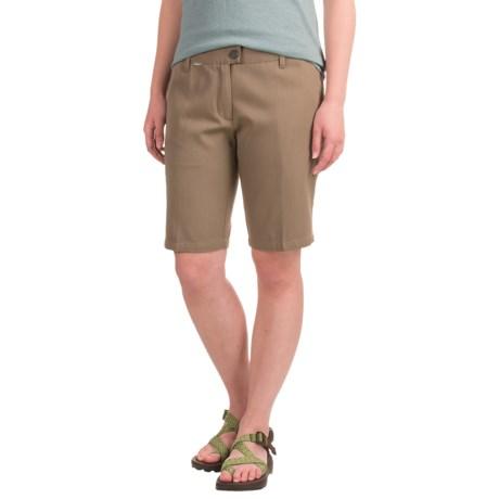 Icebreaker Via Shorts - UPF 30+, Merino Wool-Cotton (For Women) in Cabin