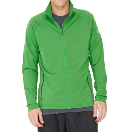 Icebreaker Victory Full Zip Shirt UPF 40+, Merino Wool, Long Sleeve (For Men)
