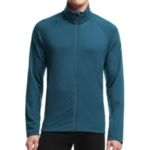 Icebreaker Victory Full-Zip Shirt - UPF 40+, Merino Wool, Long Sleeve (For Men) in Night/Balsam - Closeouts