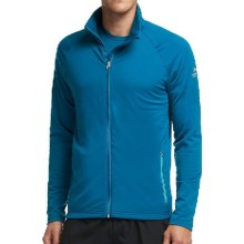 Icebreaker Victory Full-Zip Shirt - UPF 40+, Merino Wool, Long Sleeve (For Men) in Petrol/Aquamarine - Closeouts