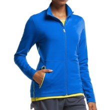Icebreaker Victory Zip Shirt - UPF 40+, Merino Wool, Long Sleeve (For Women) in Force/Fuse - Closeouts