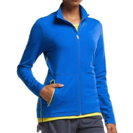 Icebreaker Victory Zip Shirt UPF 40+, Merino Wool, Long Sleeve (For Women)