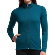 Icebreaker Victory Zip Shirt - UPF 40+, Merino Wool, Long Sleeve (For Women) in Night/Night/Shore - Closeouts