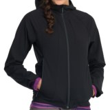 Icebreaker Viento Hood Soft Shell Jacket - Merino Wool Lining (For Women)