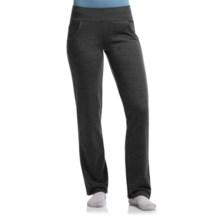 Icebreaker Villa Pants - UPF 20+, Merino Wool (For Women) in Jet Heather - Closeouts