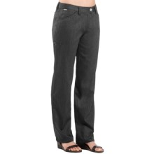 Icebreaker Vista 200 Journey Pants - Merino Wool (For Women) in Jet Black - Closeouts