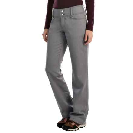 Icebreaker Vista Bootleg Pants - UPF 50+, Merino Wool-Cotton (For Women) in Fossil - Closeouts