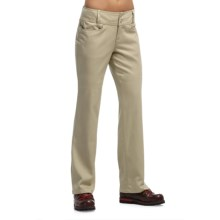 Icebreaker Vista Bootleg Pants - UPF 50+, Merino Wool-Cotton (For Women) in Straw - Closeouts