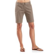 Icebreaker Vista Shorts - UPF 50+, Merino Wool-Cotton (For Women) in Cabin - Closeouts