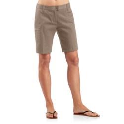 Icebreaker Vista Shorts - UPF 50+, Merino Wool-Cotton (For Women) in Cabin