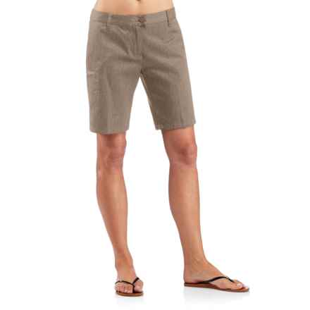 Icebreaker Vista Shorts - UPF 50+, Merino Wool-Cotton (For Women) in Cabin - Closeouts