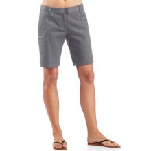 Icebreaker Vista Shorts - UPF 50+, Merino Wool-Cotton (For Women) in Fossil - Closeouts