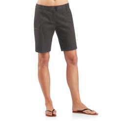 Icebreaker Vista Shorts - UPF 50+, Merino Wool-Cotton (For Women) in Cabin
