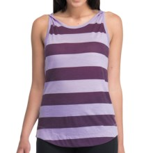 Icebreaker Willow Tank Top - UPF 50+, Merino Wool (For Women) in Hyacinth/Eggplant - Closeouts