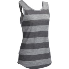 Icebreaker Willow Tank Top - UPF 50+, Merino Wool (For Women) in Metro Heather/Monsoon Heather - Closeouts
