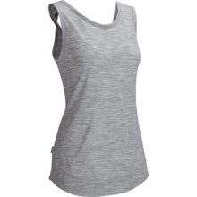 Icebreaker Willow Tank Top - UPF 50+, Merino Wool (For Women) in Metro - Closeouts