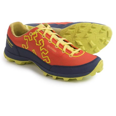 Icebug Acceleritas OCR RB9X Trail Running Shoes - Studded Outsole (For Men) in Sunset/Eclipse