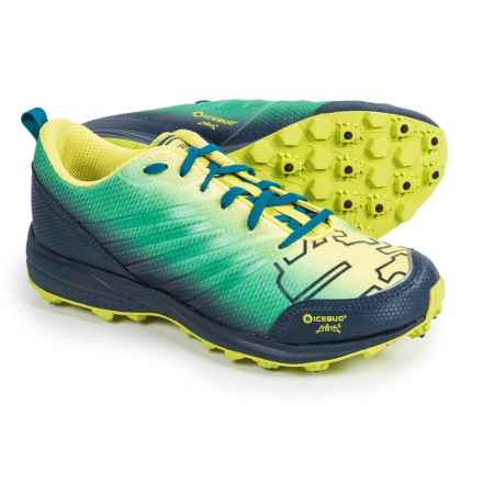 Icebug Anima BUGrip Trail Running Shoes (For Men) in Poison/Sky - Closeouts
