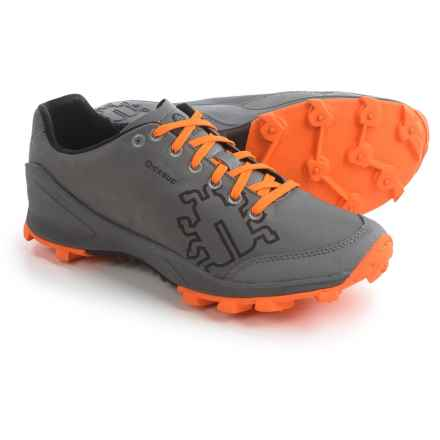 Icebug Zeal RB9X Trail Running Shoes (For Men) in Gray/Marigold - Closeouts