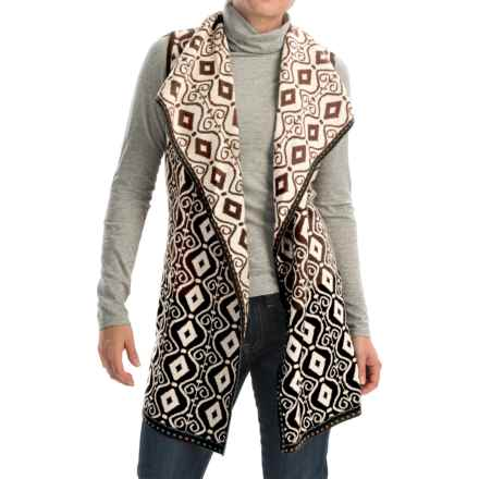 Icelandic Design Bevin Vest - Wool (For Women) in Natural - Closeouts