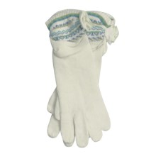 Icelandic Design Kendall Gloves - (For Women) in Natural - Closeouts