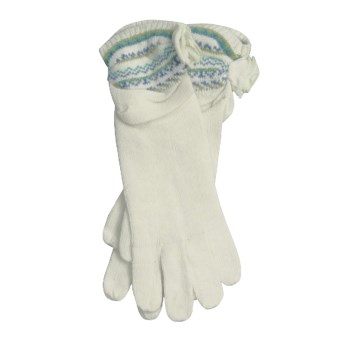 Icelandic Design Kendall Gloves - (For Women) in Natural