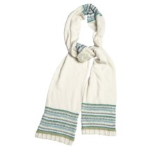 Icelandic Design Kendall Scarf (For Women) in Natural - Closeouts