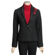 Icelandic Design Monroe Jacket - Boiled Wool (For Women) in Black - Closeouts
