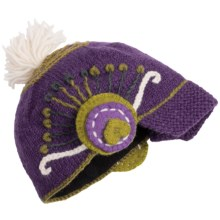 Icelandic Design Newari Rani Hat - Wool (For Women) in Purple - Closeouts