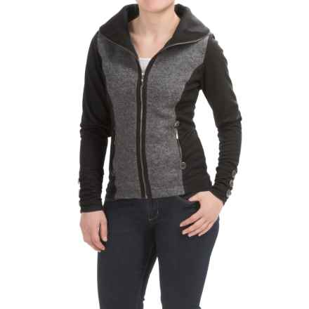 Icelandic Design Vanessa Jacket - Wool (For Women) in Grey - Closeouts