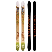 Icelantic Da Nollie Alpine Skis - Twin Tip in See Photo - Closeouts