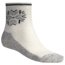 Icewear Ankle Socks - Angora-Wool (For Men and Women) in White - Closeouts