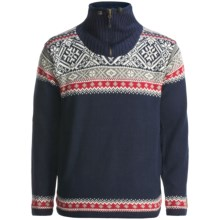 Icewear Bergen Zip Neck Pullover Sweater - Lined (For Men) in Total Eclipse - Closeouts