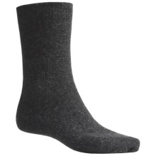 Icewear Crew Socks - Angora-Wool (For Men) in Charcoal - Closeouts