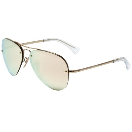 645868211a75 EAN 8053672508093 product image for Iconic Aviator Mirrored Sunglasses
