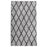 Iconic Home Patterned Shag Rug - 27x45""